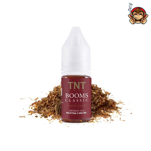 Booms Classic - Liquido Pronto 10ml - TNT Vape