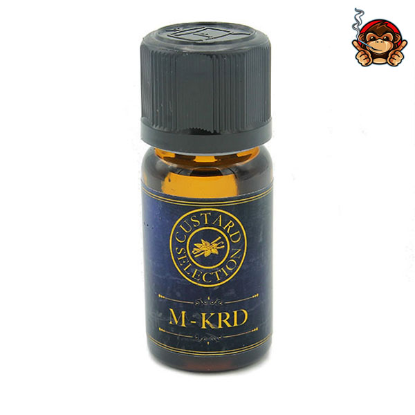 M-KRD linea Custard Selection - Aroma concentrato 12ml - Vapehouse