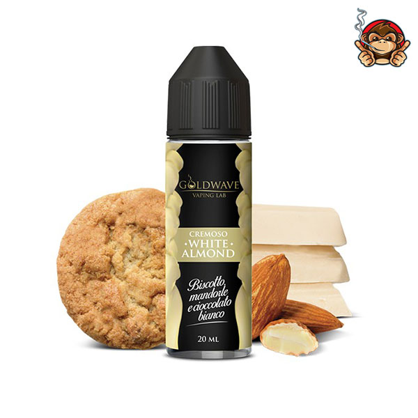 White Almond - Aroma Concentrato 20ml - Goldwave Vaping Lab