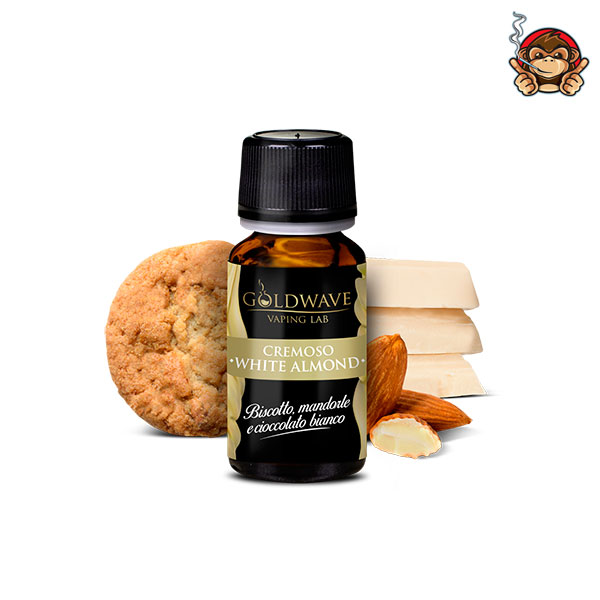 White Almond - Aroma Concentrato 10ml - Goldwave Vaping Lab