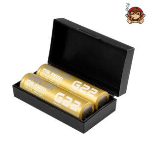 G22 IMR 18650 20Ampere 2200mAh (2 pezzi) - Golisi