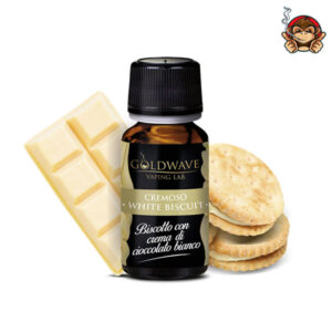 White Biscuit - Aroma Concentrato 10ml - Goldwave Vaping Lab