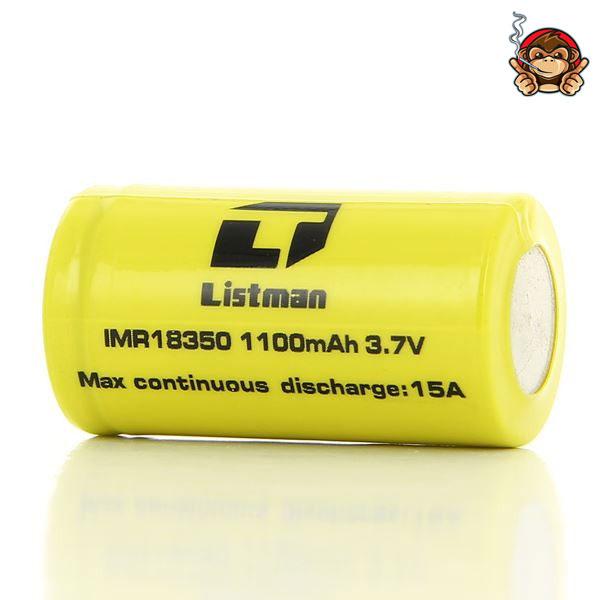 Listman batteria 18350 1100mah 9A