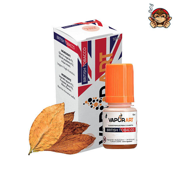 British Tobacco - Liquido Pronto 10ml - Vaporart