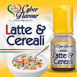 LATTE & CEREALI - aroma da 10ml. Cyber Flavour