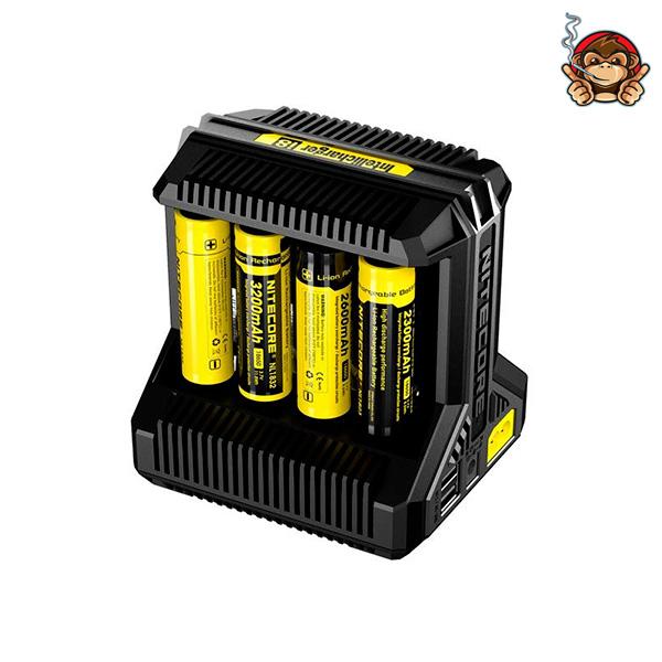 Caricabatterie I8 (8 Slot) - Nitecore
