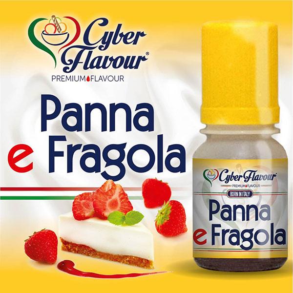 PANNA E FRAGOLA - aroma da 10ml. Cyber Flavour