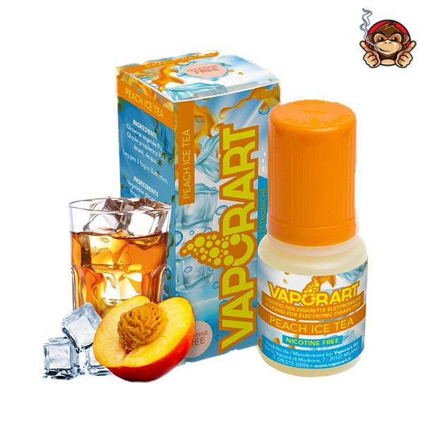 Peach Ice Tea - Liquido Pronto 10ml - Vaporart