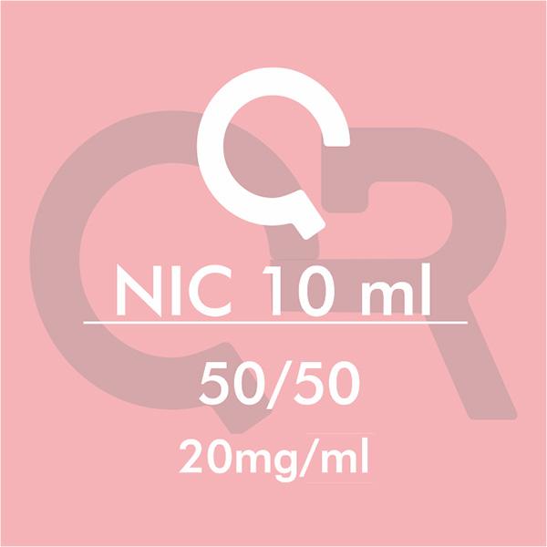 Basetta Nicotina 50/50 20mg/ml 10ml - QR Flavour