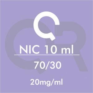 Basetta Nicotina 70/30 20mg/ml 10ml - QR Flavour
