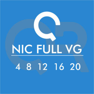 Basetta Nicotina Full VG (4 / 8 / 12 / 16 / 20) mg/ml 10ml - QR Flavour