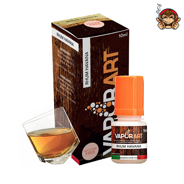 Rhum Havana - Liquido Pronto 10ml - Vaporart
