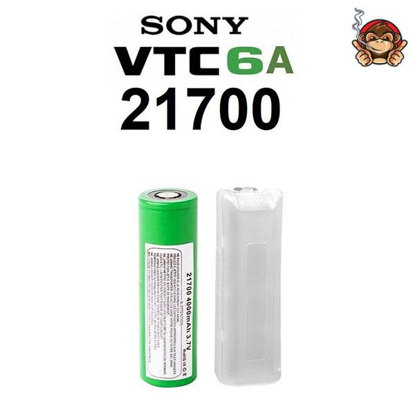 Sony VTC6A batteria ricaricabile 21700 4000mah 30A
