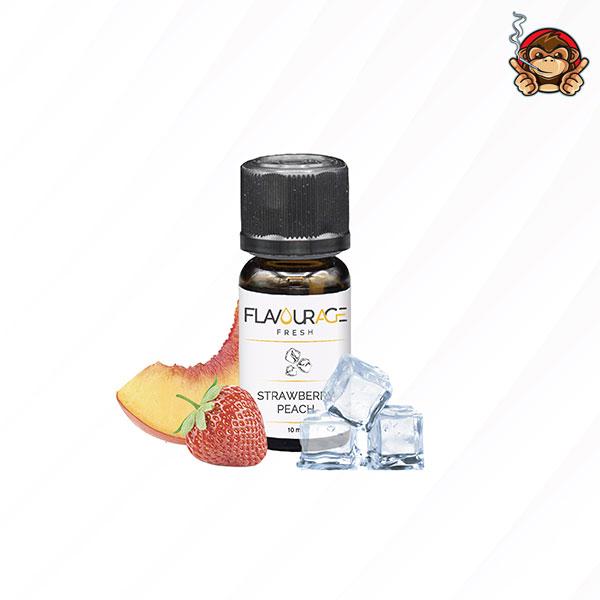 Strawberry Peach - Aroma Concentrato 10ml - Flavourage