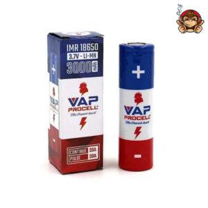 Vap Procell batteria ricaricabile 18650 3000mah 30A