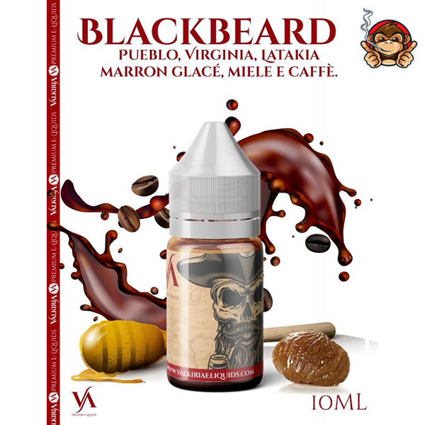 Black Beard - Aroma Concentrato 10ml - Valkiria