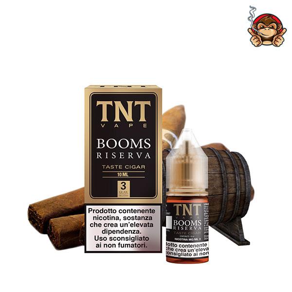 Booms Riserva - Liquido Pronto 10ml - TNT Vape