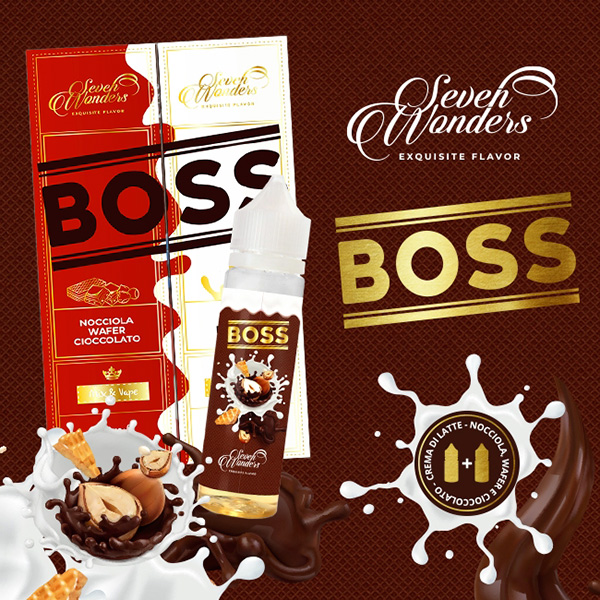 Boss Mix Series 40ml - Seven Wonders