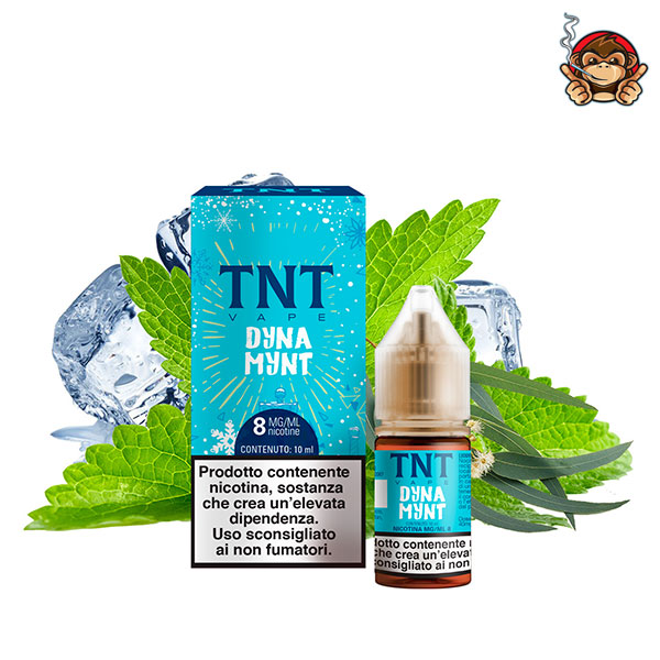 Dyna Mint - Liquido Pronto 10ml - TNT Vape
