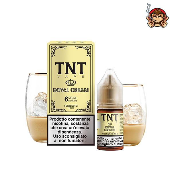 Royal Cream - Liquido Pronto 10ml - TNT Vape