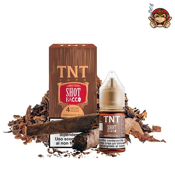 Shot Bacco - Liquido Pronto 10ml - TNT Vape