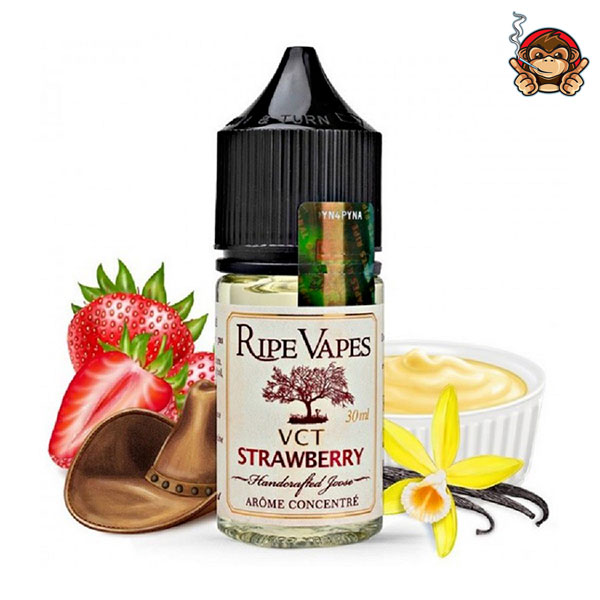 VCT Strawberry - Aroma Concentrato 30ml - Ripe Vapes
