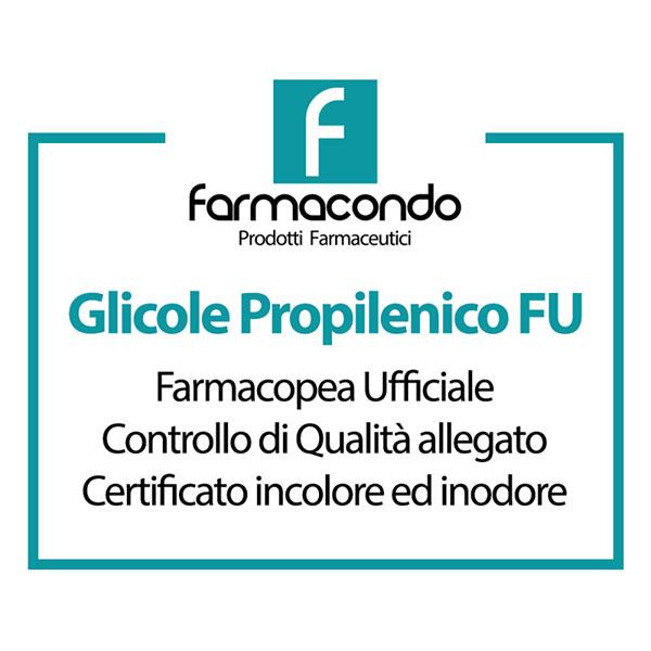 Glicole Propilenico Farmacondo 1 LITRO FU
