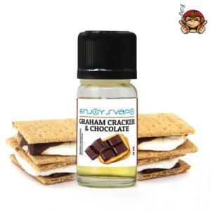 Graham Cracker e Choccolate - Aroma Concentrato 10ml - Enjoy Svapo
