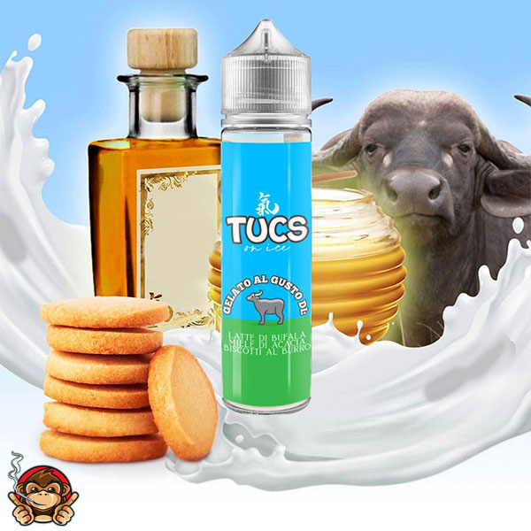Tucs On Ice - Aroma Concentrato 20ml - Ghost Bus Club
