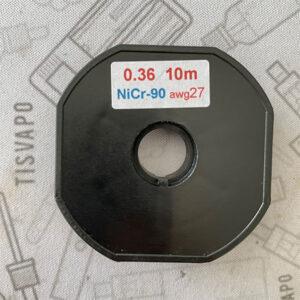 Filo Resistivo ZIVIPF NiChrome Ni90 27ga 0.36mm