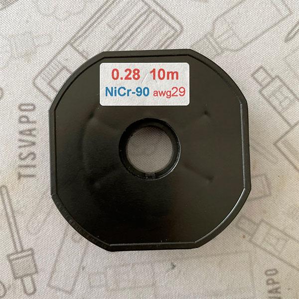 Filo Resistivo ZIVIPF NiChrome Ni90 29ga 0.28mm