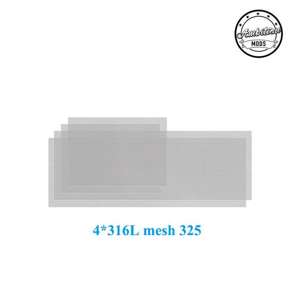 316L Mesh 325 di Ricambio per Ripley RDTA - Ambition Mods & The Vaping Gentlemen Club