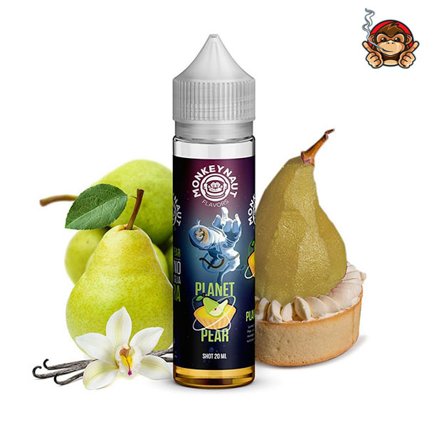Planet Pear - Aroma Concentrato 20ml - Monkeynaut